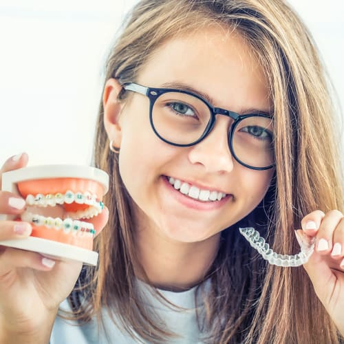 Invisalign First, orthodontic treatment for kids